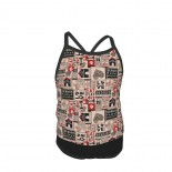 Wigglebutts , Dog, Rescue Summer Two Piece Fashion Girl Swimsuit,Suitable for most girls aged 3-6.