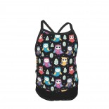Owl Summer Two Piece Fashion Girl Swimsuit,Suitable for most girls aged 3-6.