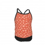 Foxwood-Fossil Coral Tonal-Windham Summer Two Piece Fashion Girl Swimsuit,Suitable for most girls aged 3-6.