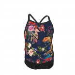 FLORAL AND BIRDS XII Summer Two Piece Fashion Girl Swimsuit,Suitable for most girls aged 3-6.