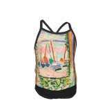 Henri Matisse The Open Window Summer Two Piece Fashion Girl Swimsuit,Suitable for most girls aged 3-6.