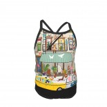 New York Is A Busy Town SP Summer Two Piece Fashion Girl Swimsuit,Suitable for most girls aged 3-6.