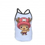 One Piece Doctor Chopper Summer Two Piece Fashion Girl Swimsuit,Suitable for most girls aged 3-6.