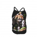 One Piece Sauron Summer Two Piece Fashion Girl Swimsuit,Suitable for most girls aged 3-6.