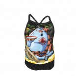 One Piece Shiping Summer Two Piece Fashion Girl Swimsuit,Suitable for most girls aged 3-6.