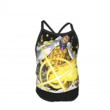One Piece Yellow Ape Summer Two Piece Fashion Girl Swimsuit,Suitable for most girls aged 3-6.