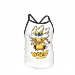 Pikachu Cosplay Summer Two Piece Fashion Girl Swimsuit,Suitable for most girls aged 3-6.
