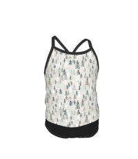 Solitude (earth) MED Summer Two Piece Fashion Girl Swimsuit,Suitable for most girls aged 3-6.