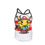 Supreme Pikachu Cosplay Summer Two Piece Fashion Girl Swimsuit,Suitable for most girls aged 3-6.