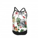 This Is The Lei - Mandalorian Summer Two Piece Fashion Girl Swimsuit,Suitable for most girls aged 3-6.