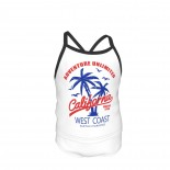 Tide Brand Coconut Tree Summer Two Piece Fashion Girl Swimsuit,Suitable for most girls aged 3-6.